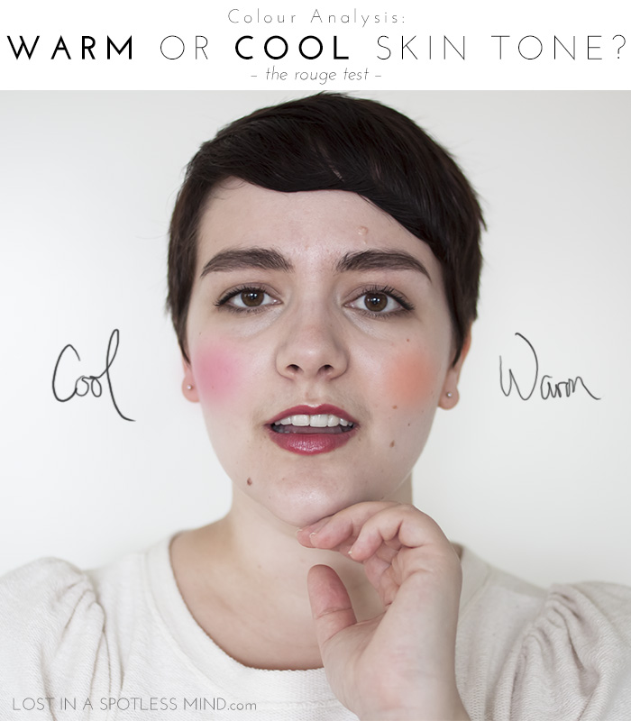 Colour analysis: warm or cool skin tone? | from lostinaspotlessmind.com