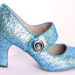 The magical glitter shoes