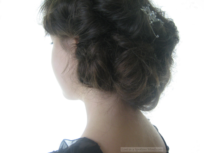 Downton Abbey hair tutorial (Lady Sybil) | Lost in a Spotless Mind