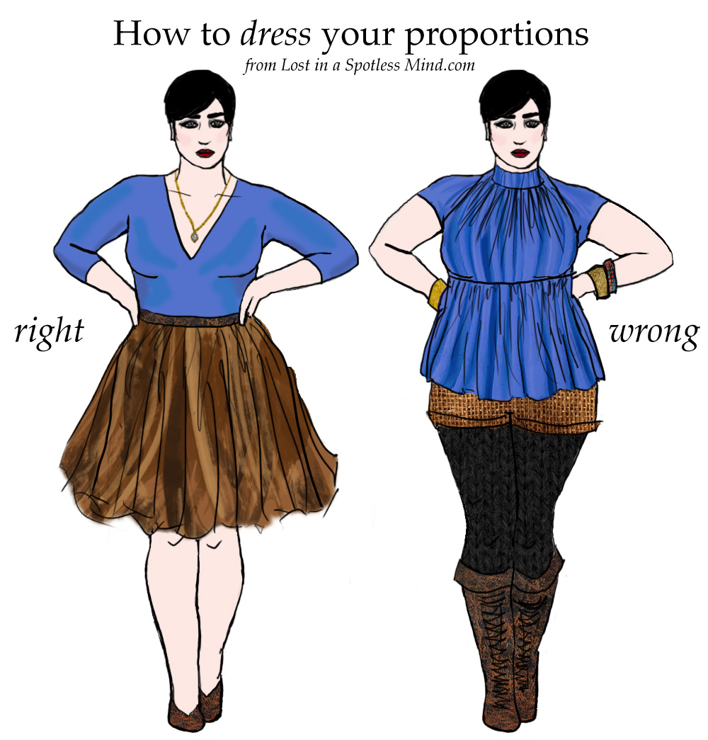 Proportion In Clothing Design | How To Understand Your Proportions And Dress For Your Style Lost