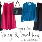 How to shop vintage/second hand