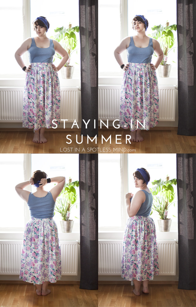 Outfit: staying-in summer | from lostinaspotlessmind.com