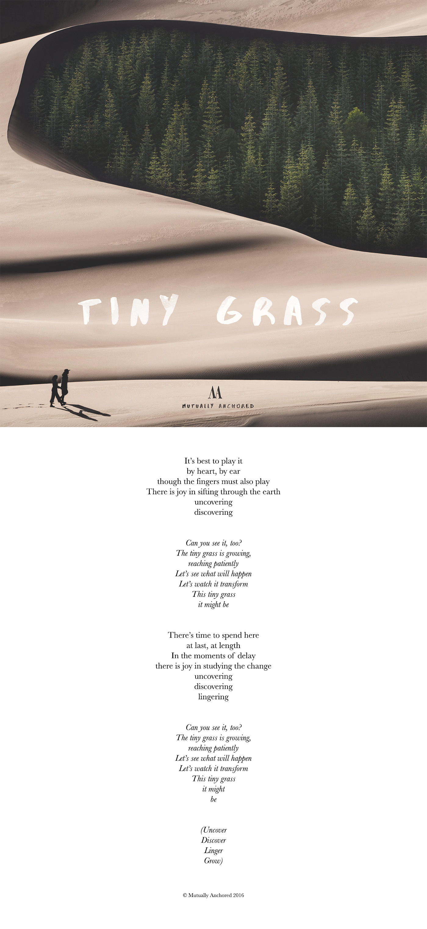 Mutually Anchored Tiny Grass lyrics